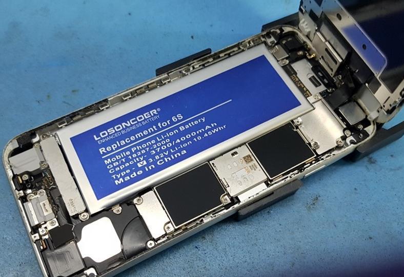 Fake iPhone accu