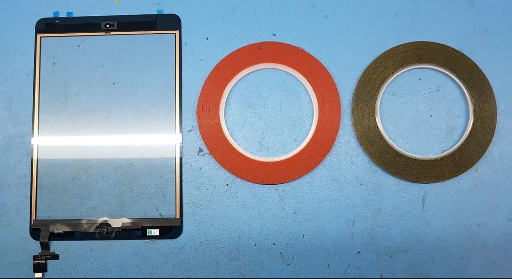 Bevestiging iPad scherm - Tesa
