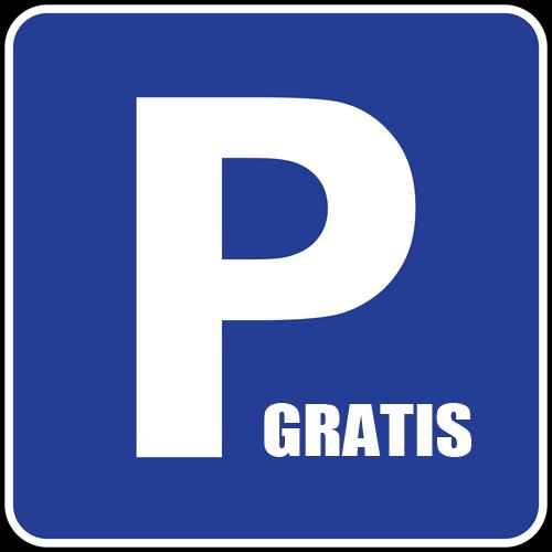 Gratis parkeren voor de deur