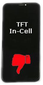 TFT In-Cell iPhone X scherm